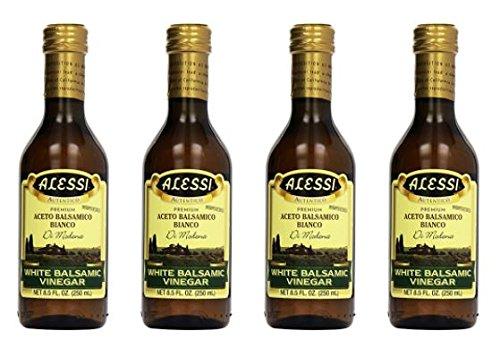 Alessi Vinegar - Alessi - White Balsamic Vinegar, 8.5 oz Pack of 4