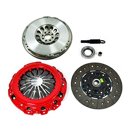 (EFORTISSIMO STAGE 2 CLUTCH KIT+CHROMOLY FLYWHEEL fits INFINITI G35 NISSAN 350Z VQ35DE)