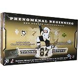2005/2006 Upper Deck Sidney Crosby Phenomenal Beginnings Gold 21 Card Rookie Card Set w/Jumbo Card