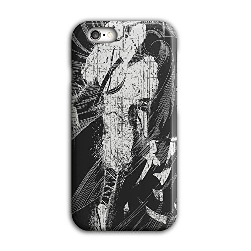 [Asian Ninja Warrior Battle Kick NEW Black 3D iPhone 6 / 6S Case | Wellcoda] (3 Ninjas Kick Back Costume)