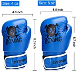 Dtown Toddler Boxing Gloves for Child 4oz Boxing
