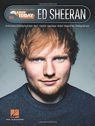Ed Sheeran: E-Z Play  Today Volume 84 ebook