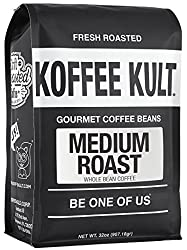 Image of the product Koffee Kult - Medium Roast Coffee Beans (2 lb Whol that is listed on the catalogue brand of Koffee Kult.