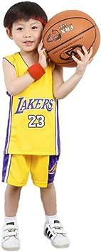 KSWX Camiseta de Baloncesto Niño Lakers # 23 Lebron James Traje De Entrenamiento De Baloncesto para Hombres Y Mujeres: Amazon.es: Deportes y aire libre