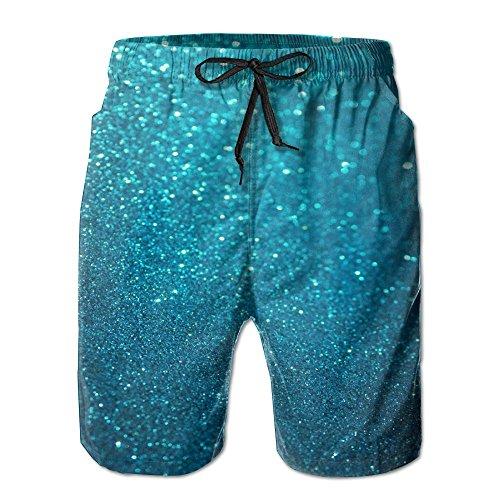 FERNANDO HUNG Abstract Bubble Men's Short Pant Home Pants Swimming Pants Pant Beach Pants Short Pants (Zanzibar Leopard)