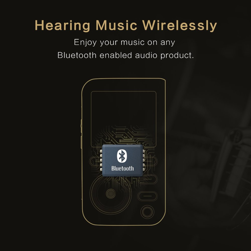 Lotoo PAW 5000 Digital Audio Player with Silicone Case, 32GB Micro SD Card as Gift, HiFi Sports Clip Wearable Portable Lossless Music Player with Bluetooth, DSD Playback, USB 3.0, 2TB Max Storage by LT LOTOO (Image #5)