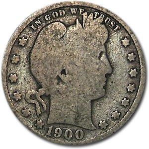 1900 Barber Quarter Good/VG Quarter Good
