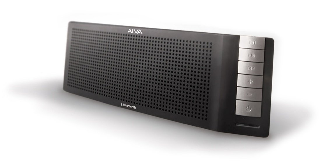 ALVA Stereo Bluetooth Speaker with 9 Watt Max Power - Android, iPhone, iPad Compatible
