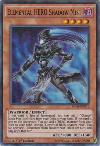 yu-gi-oh-elemental-hero-shadow-mist-sdhs-en001-structure-deck-hero-strike-1st-edition-super-rare