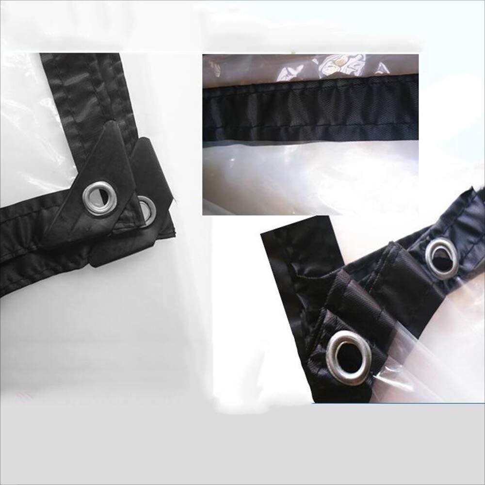 ZHULIAN Panno Impermeabile Trasparente, Trasparente, Trasparente, Tela Impermeabile Resistente all'Usura (Taglia   4m×8m) | Cheap  | Moderno Ed Elegante Nella Moda  a78394