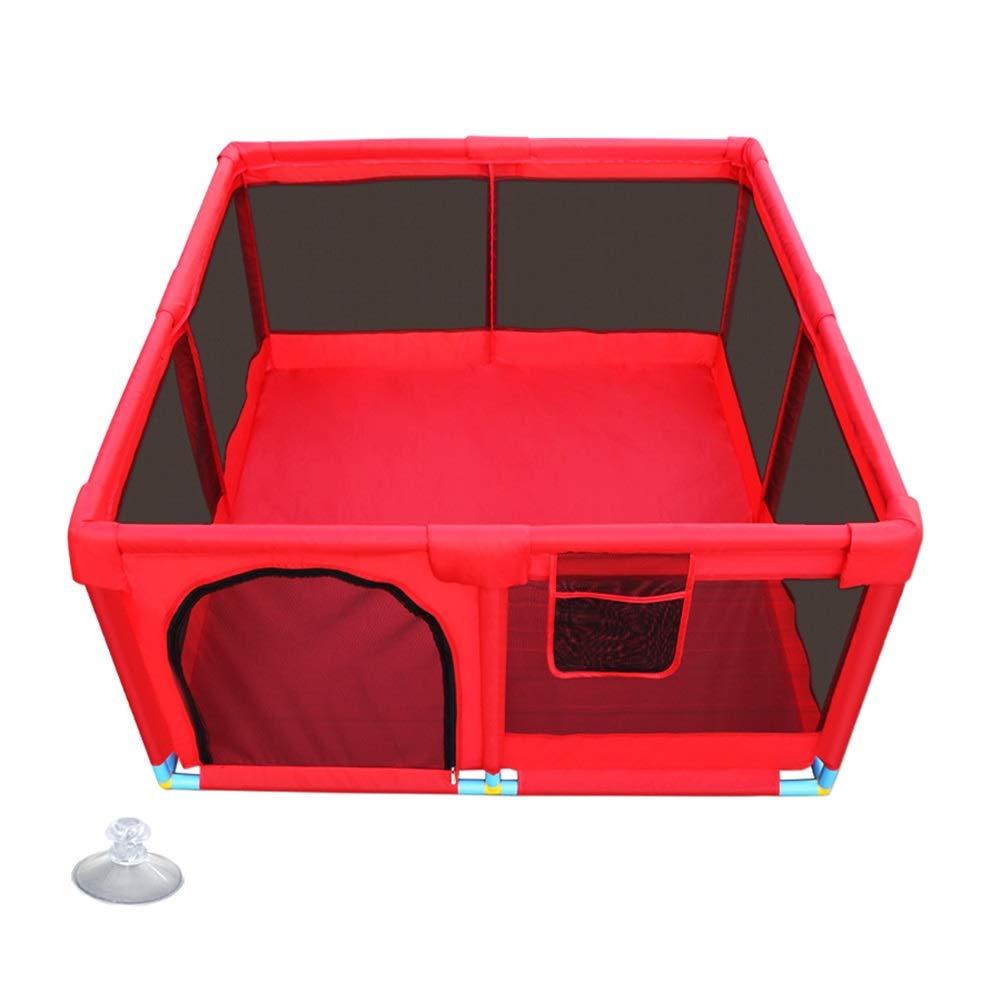【メーカー包装済】 ベビープレイヤード、託児所の幼児の安全な再生のペン、収納袋と通気性のメッシュ、128×128×66センチメートル B07LFXM3QV B07LFXM3QV, イナカワマチ:0da7f6f3 --- a0267596.xsph.ru