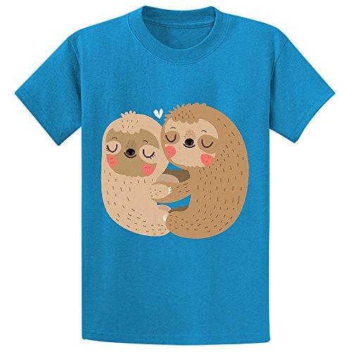 Kids Design Cartoon T Shirts Blue (Old Spice T-shirt)