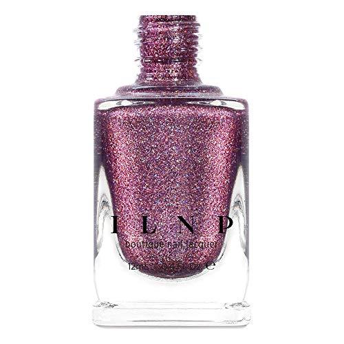 ILNP No Promises - Dark Amaranth Pink Holographic Nail Polish