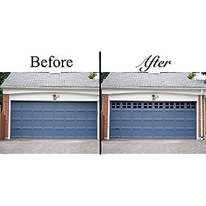 Household Essentials 232 Garage Window Black