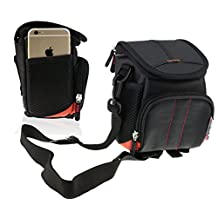 Navitech Black Digital Camera / Compact DSLR Case Bag For The Nikon COOLPIX A900 / COOLPIX A300 / COOLPIX B500 / COOLPIX A10