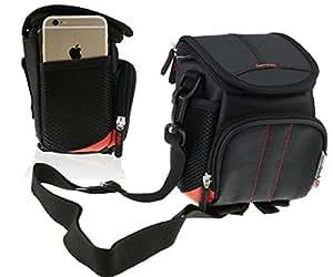 Navitech Black Digital Camera Case Bag for The Panasonic Lumix DMC-TZ80