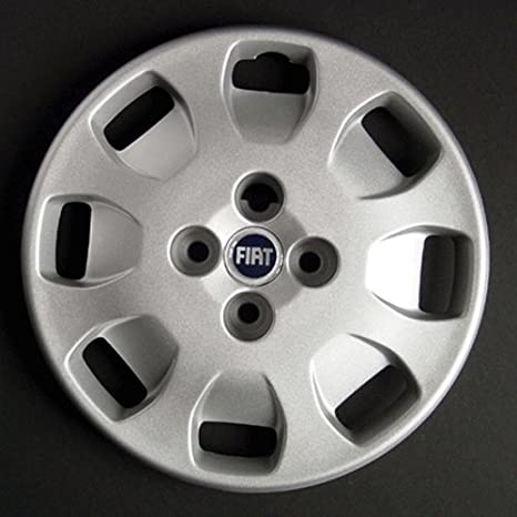 Wheeltrims Set de 4 embellecedores Fiat Punto 2 1999> con Llantas Originales de 14