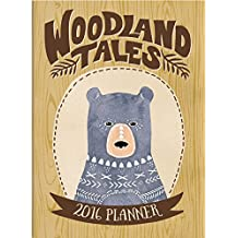 Orange Circle Woodland Tales Tmwy Planner Calendar 2016