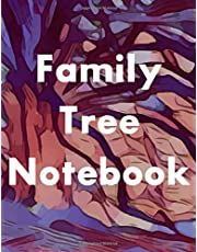 Family Tree Notebook: 7-Generation Genealogy Charts, 127 Ancestor Data Sheets, Tips and Ideas for Further Family Research, Archive and DNA Logs, and a Dedicated Space for Family Stories