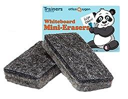 Mini Erasers for Whiteboard Dry-erase, set of 30 erasers, 2.5\
