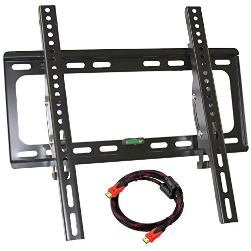 Fit Bracket Mailbox - Universal LCD LED Plasma Tilting Wall Mount, Costech Profile 26-55 inch Corner Flat Screen Monitor TV Display Bracket MAX Vesa 400*400mm Load Capacity 110LB Tilt ±15 ° Bubble Level included