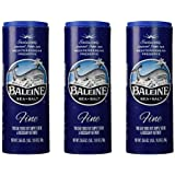 La Baleine Sea Salt Canister, Fine, 26.5 oz (Pack of 3)