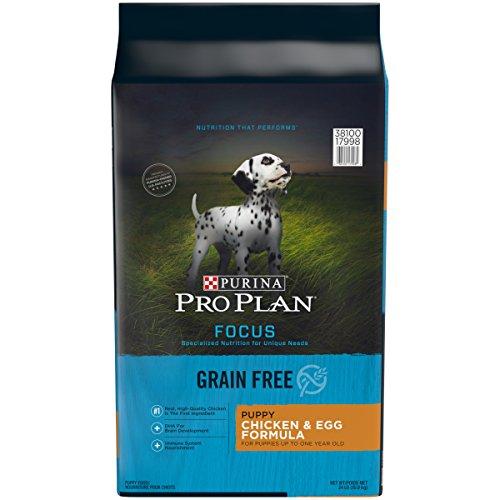 Purina Pro Plan Grain Free, Natural Dry Puppy Food; FOCUS Chicken & Egg Formula - 24 lb. Bag