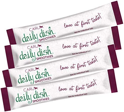 CARU Daily Dish Smoothies Lickable Treats for Cats (Chicken, Pack of 4), 10851395005906, Natural, 56 g/2 oz