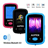 AGPtek 8GB Bluetooth MP3 Player ,Clip Sport Hi-Fi Sound Music Player, Support FM