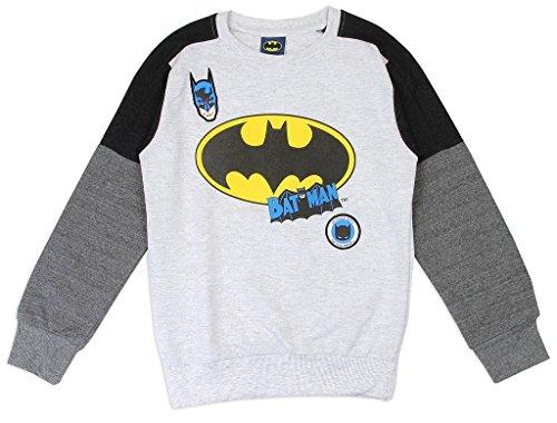 Crusader Long Sleeve - DC Comics Little Boys' Batman Lightweight Long Sleeve Top (6)