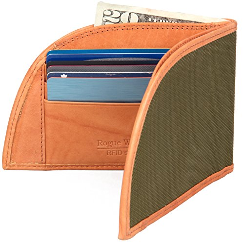Front Pocket Wallet by Rogue Industries - Ballistic Nylon Material with RFID Block