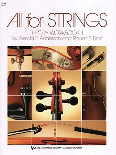 (84VA - All for Strings Theory Workbook - Book 1 –)