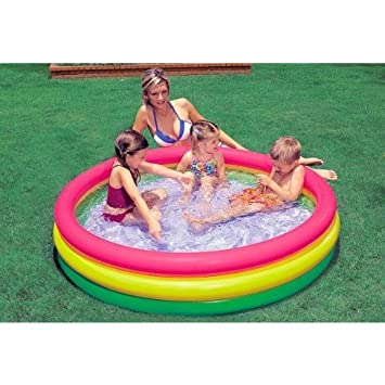 INTEX - Piscina Hinchable 3 Aros, 114 x 25 cm (57412): Amazon.es ...