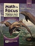 Math in Focus Singapore Math: Course 3 A - Teacher's Edition