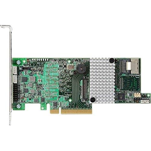 LSI LSI00305 Logic Controller Card MegaRAID 9266-4i 4Port Internal 1GB SATA/SAS PCI Express Single by LSI