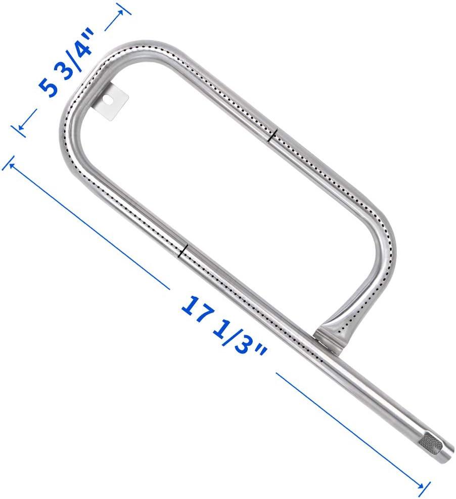 X Home 69957 Burner Tube for Weber Q1000, Q1200, Q100, Q120, 50060001, 516000001, 51010001, Stainless Steel Burner Universal for Weber 60040 41657
