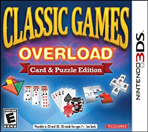 Classic Games Overload: Card & Puzzle Edition - 3DS