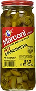 Marconi The Original Chicago Style Hot Giardiniera 16 oz