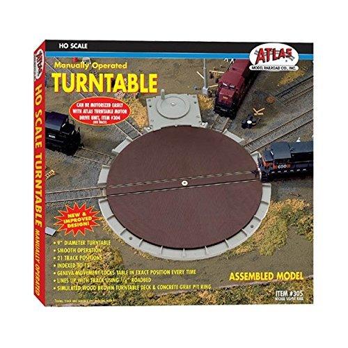 Atlas Trains 305 Manually Operated Turntable by Atlas Atlas Turntable