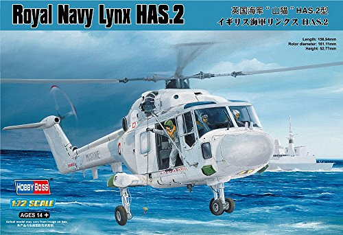 y Lynx HAS.2 Airplane Model Building Kit (Royal Navy Helicopter)