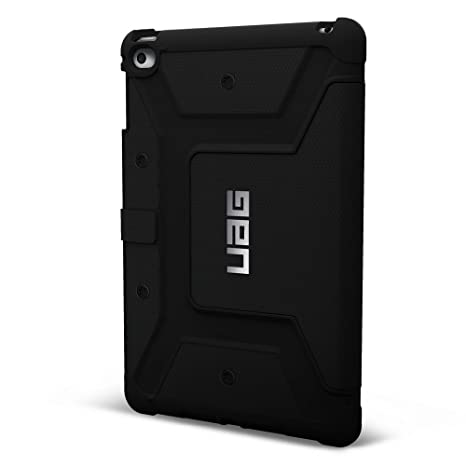 separation shoes 54775 da0e2 UAG Folio iPad Mini 4 Retina Feather Light Composite [Black] Military Drop  Tested iPad Case