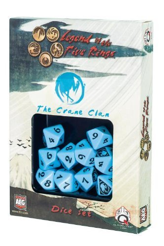 Legend of the Five Rings: AEG L5R Dice Set - Crane Clan (10)
