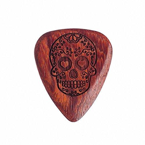 Tattoo Tones TAT-CAS-1 Candy Skull Individual Plectrum Guitar Pick