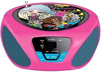 promotion spéciale en ligne ici Réduction Sakar - Lecteur CD Boombox pour Enfant - Radio FM/AM: Amazon ...