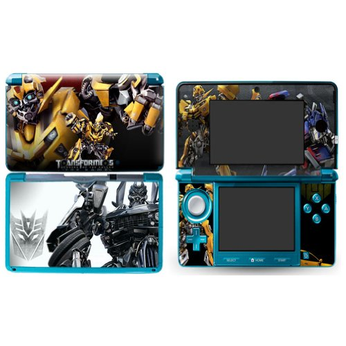 TRANSFORMERS BUMBLEBEE Nintendo 3DS Cover Skin Decal Sticker Vinyl Matte Finish + Free Screen Protectors (For Old Version Prior 2015)
