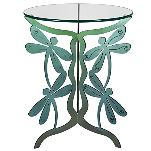 Dragonfly Bench - Dragonfly Table (Color Shift) Cricket Forge - Outdoor / Indoor - Steel