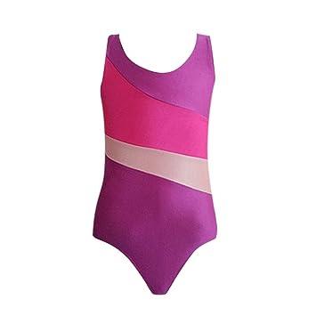 134fa7df9e0e Amazon.com  Putars Baby Clothing Kids Girls s Ballet Leotard ...