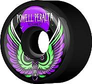 Powell-Peralta Skateboard Wheels Bombers 60mm 85a Black