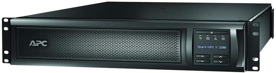 APC Network UPS, 2200VA Smart-UPS Sine Wave UPS with Extended Run Option, SMX2200RMLV2U, 2U Rackmount/Tower Convertible, Line-Interactive, 120V
