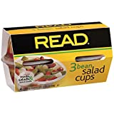 Read 3 Bean Salad, 4 Ounce (Pack of 6)